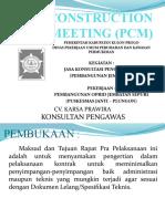 Presentasi PCM SEPURI KP 2021