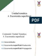 [11] 4.1 Escorrentía - Generalidades