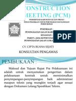 PCM Konsultan LP 2 Kulon Progo 2019