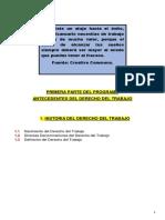 1. Clase 25 de enero 2021 (HISTORIA DEL DERECHO DEL TRABAJO)