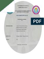 Informe Lectura Obligatoria 8 (Aguas)