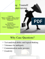 Preparing Yourself - Case Interviewing