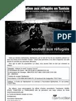 #Feb17 #Sidibouzid Urgent Soutien aux réfugiés qui fuient la barbarie du sinistre clown gaddafi