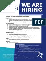 MTA JOB 2021 06 Facilities M Coordinator