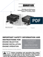 Briggs & Stratton Quantum 35 Engine - Owner's Manual