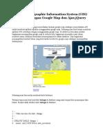 Membuat Geographic Information System