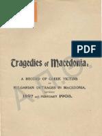 Tragedies of Macedonia