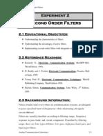 II Order Filters
