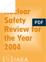 Nuclear Safety Review 2004