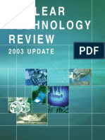 Nuclear Technology Review 2003