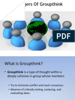 The Dangers Of Groupthink