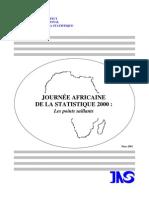 Journée Africaine de la Statistique 2000
