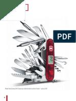 Švajčiarsky armádny nôž - ukážka