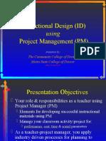ID Project Management Presentation -- CIPA
