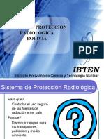 X Sistema de Proteccion Radiologica - Bolivia