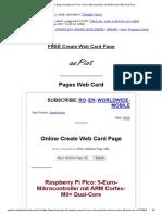 Web Card Page _ Raspberry Pi Pico_ 5-Euro-Mikrocontroller Mit ARM Cortex-M0+ Dual-Core