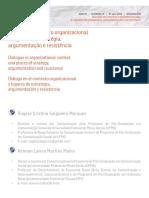 TEXTO 5 - Diálogo No Contexto Organizacional e Lugares de Estratégia