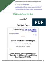 Web Card Page _ Video Daily_ 9 Millionen Sehen Den _Tatort_, 11 Millionen Prince Philips Beerdigung _ MEEDIA