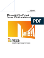 Project Server 2003 Installation Guide