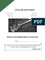 Apostila de Guitarra Modulo Intermediari