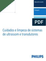 higienização transdutores ultrassom
