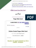 Page Web Card _ Scuola_ Da Oggi 8 Studenti Su 10 in Classe - Cronaca