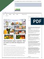 Manual da geladeira segura e organizada – Dicas para manter sua comida bem refrigerada e sem riscos _ Food Safety Brazil