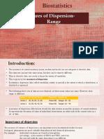 Biostatistics Range