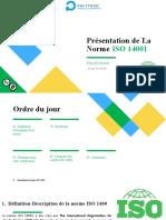 Présentation de La Norme ISO 14001