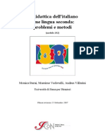 La didattica dell'italiano come lingua seconda