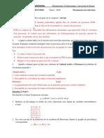 Examen corrigé système d'exploitation, univ Bouira 2018