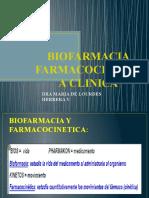 BIOFARMACIA Y FARMACOCINETICA CLINICA