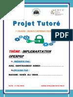 Projet Tutoriel L1 Reseau Informatique