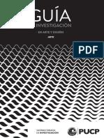 Guía de Investigación en Arte y Diseño_BALLÓN, Alejandra;GUERRA, Martín; MITROVIC, Mijail;GRUBER, Stephan 2017