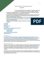 Federal Testing Plan for Federal Workforce