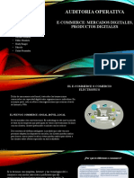 Auditoria Operativa E commerce