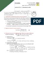 Correction ex1 - TD2 Cinématique FST-BM 20-21