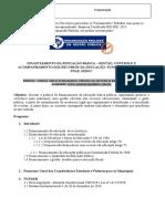 Folder recursos educação