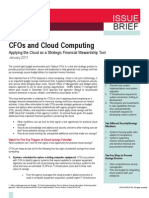 Federal CFOs and Cloud Computing