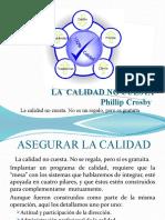 LA  CALIDAD NO CUESTA – PHILLIP CROSBY