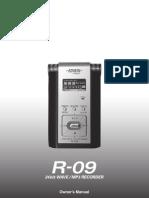 Edirol R-09 Manual