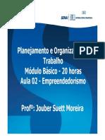 Aula 02 - Planejamento e Organização do Trabalho (1)