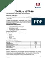 Bt Evora Td Plus Sae 15w40 API Ch 4