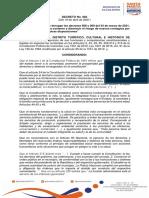 Decreto No. 083 en Santa Marta