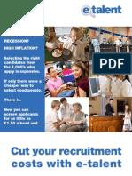 e-Talent for reducing recruitment costs [MM-EN]