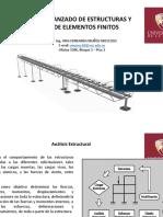 Analisis Avanzado de Estructuras y Teoria de Elementos Finitos