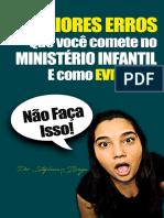 5 Erros Do Ministerio Infantil