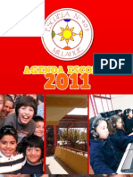 Agenda Colegio Millahue 2011