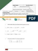 Tipos de Reacciones y Balaceo de Ecuaciones Químicas (1)