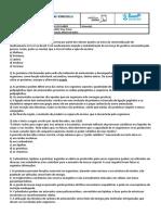 Lista 4 - Proteínas (Enzimas)